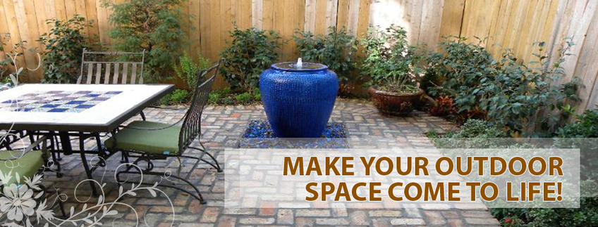 commercial and residential landscaping available salon space patio
